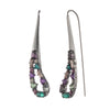 Fashionably Late<br/> Paisley Encrusted Stone Earring