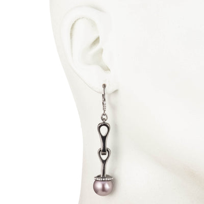 Fashionably Late<br/>Pearl Drop Earring