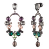 Fashionably Late<br/>Stone Cascade Drop Earring