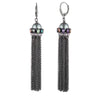 Fashionably Late<br/>Chain Tassel Earring