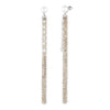 Grace<br/> Chain Tassel Earrings
