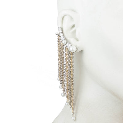 Grace<br/> Chain Fringe Ear Crawler