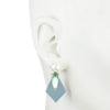Kylie<br/> Short Sequin Drop Earring with Pearl