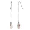 Freshwater Pearl<br/> Threader with Drop Earring