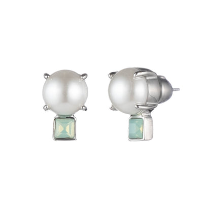 Marlene<br/>Pearl and Stud Post Earring