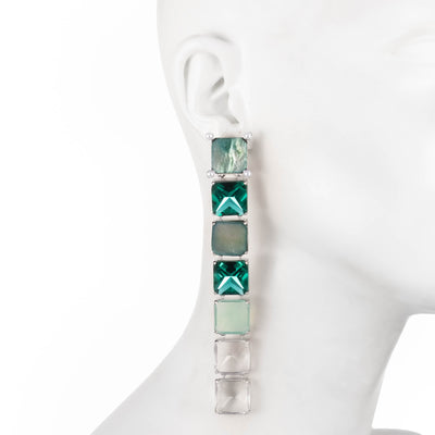 Nicki<br/>Linear Pixel Earring