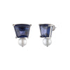 Daphne<br/> Pearl Trapezoid Earring