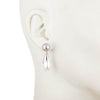 Sara <br/>Double Drop Pearl Drop Earring