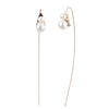 Eva<br/> Short Metal Drop Earring