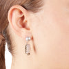 Rose<br/> Quartz Drop Earring