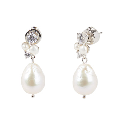 Donna <br/> Cluster Drop Earring