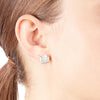 Iris <br/> Freshwater Coin Drop Earring