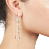 River<br/> Waterfall Linear Earring