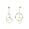 River<br/> Interlocking Drop Earring