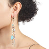 Eden<br/> Beaded Fringe Earring