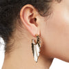 Cleo <br/>Sculptural Drop Earring