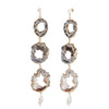 Eden<br/> Triple Agate Linear Earring