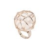 Starstruck </br>Caged Dome Pearl Ring