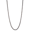 "Jet Crystal</br>64"" 10mm Rope Necklace"