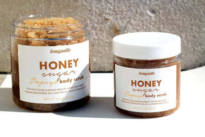 Honey, Sugar, Papaya Body Scrub 4oz