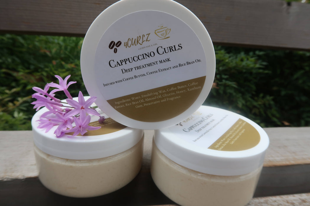 Cappuccino Curls - Deep Conditioner for Natural hair & Curls