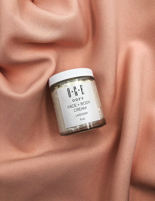 Face + Body Cream - Lavender 6 oz.