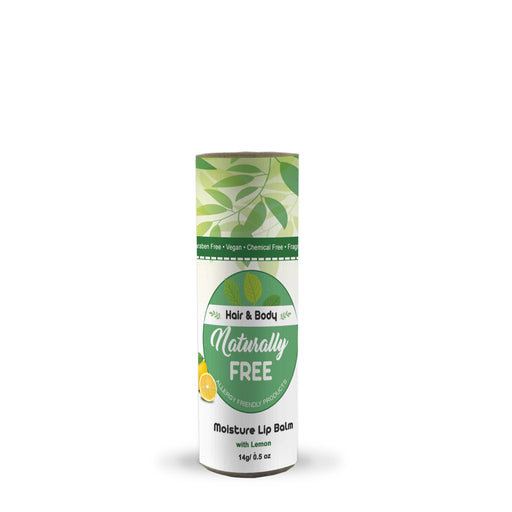Moisture Lip Balm - Lemon (Allergy Friendly)