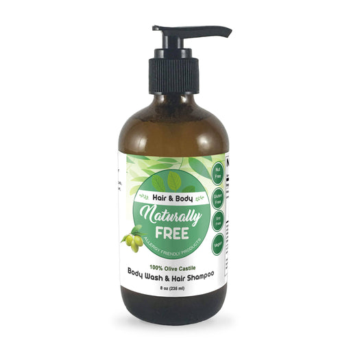 Olive Shampoo & Body Wash (Allergy Friendly)