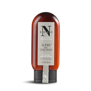 """Sleek™"" All Natural Pre Shave + Shave Cream"