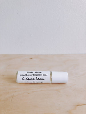 aromatherapy fragrance oil / balance beam
