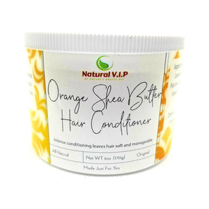 Orange Shea Butter Hair Conditioner