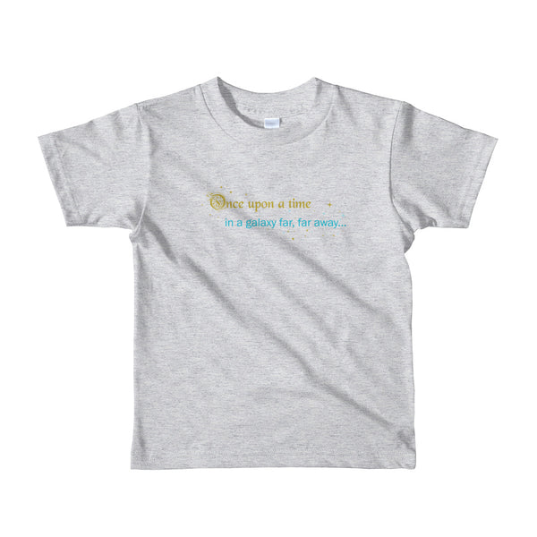 Gold Galaxy 2-6 Kids T-shirt