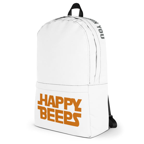 "Happy Beeps ""Pin Me"" Backpack"