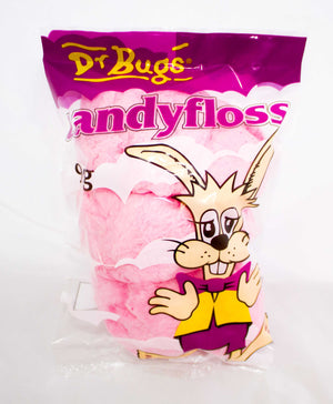 Packet of Dr Bugs Candyfloss