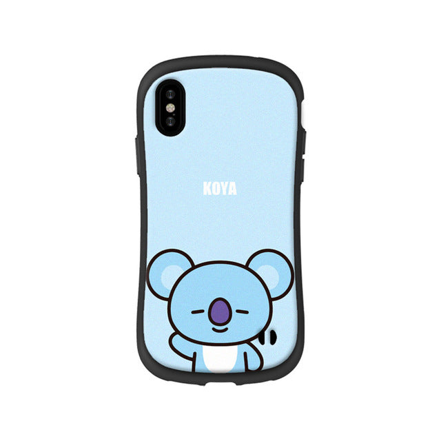 coque bt21 iphone 8