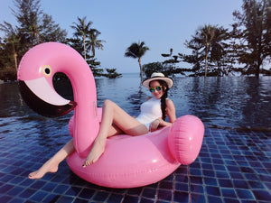 Inflable flamingo