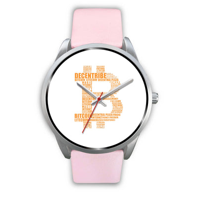 Bitcoin Decentribe Watch - White