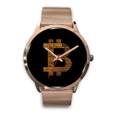 Bitcoin Decentribe Watch - Black