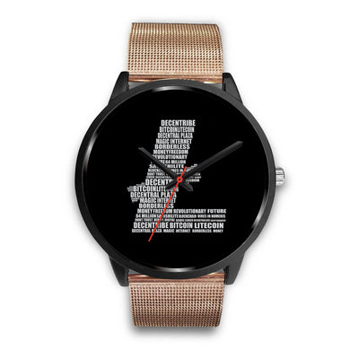 Litecoin Decentribe Watch - Black