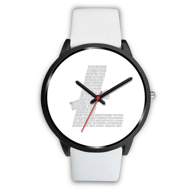 Litecoin Decentribe Watch - White