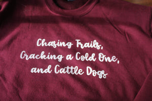Cattle Dogs Crewneck
