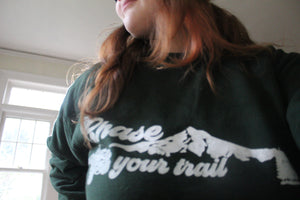 Chase Your Trail YJ Crewneck