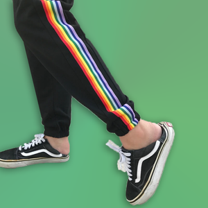 Bluestone Rainbow Pants  - For Aesthetics and Fashion Lovers