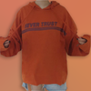 """Never trust"" hoodie - Blue Stone Club"