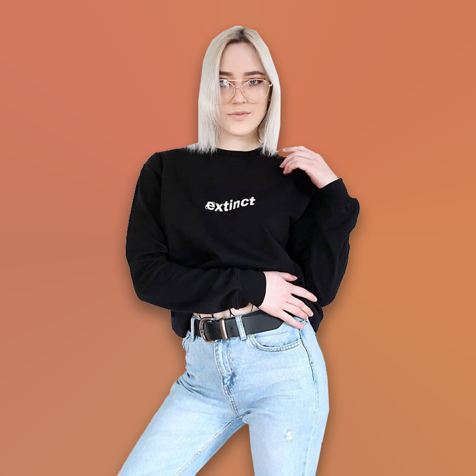 Extinct (Explorer) Sweatshirt - For Aesthetic Clothes Lovers