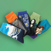 Load image into Gallery viewer, Bluestone Art Socks - For Art and Fashion Lovers