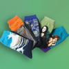 Bluestone Art Socks - For Art and Fashion Lovers