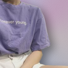 Load image into Gallery viewer, FOREVER YOUNG t-shirt