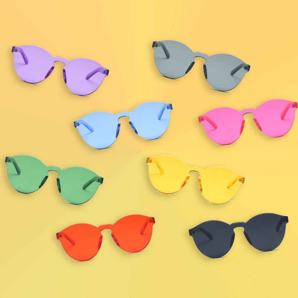 Shades Colored Sunglasses - For Summer and Fashion Lovers