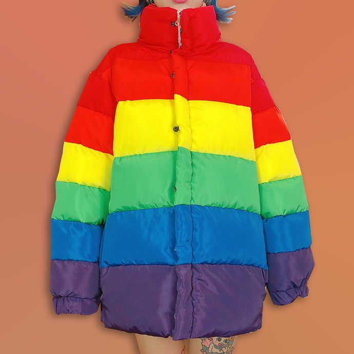 Rainbow Cotton Jacket